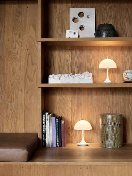 Louis Poulsen Panthella Portable tafellamp LED oplaadbaar
