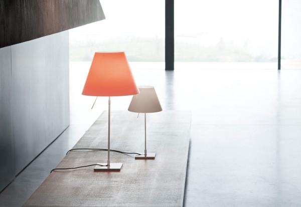 Luceplan Costanza tafellamp telescopisch met dimmer en diffuser