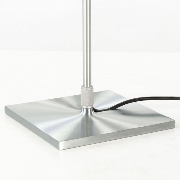 Luceplan Costanza vloerlamp telescopisch met aan-/uitschakelaar aluminium