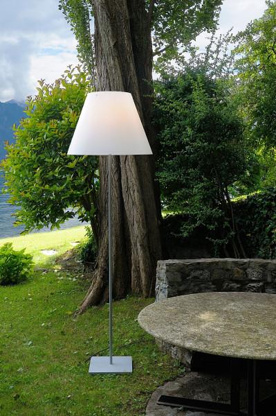 Luceplan Grande Costanza Open Air vloerlamp aluminium