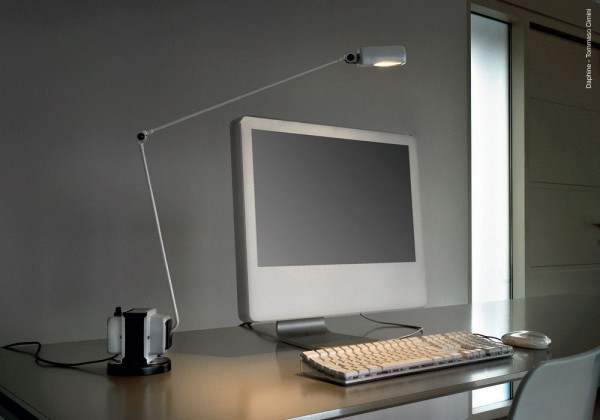 Lumina Daphine bureaulamp halo met dimmer