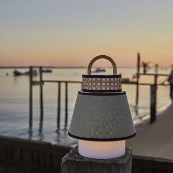 Market Set Singapour tafellamp LED draagbaar