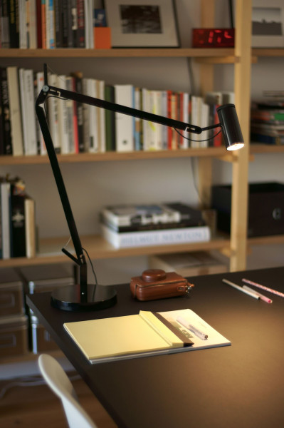 Marset Polo bureaulamp LED met tafelklem