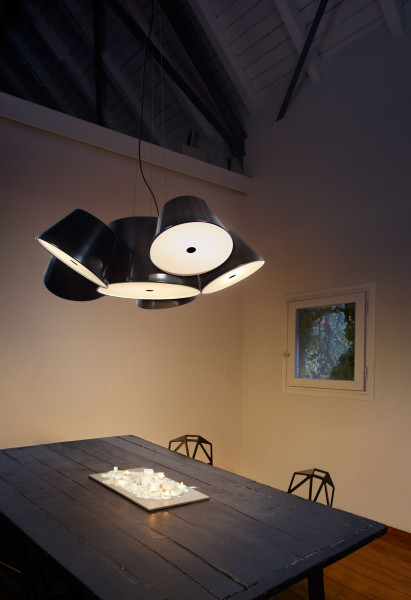Marset Tam Tam 5 hanglamp wit