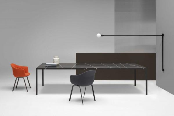 MDF Italia Tense Material Marble tafel 260x100