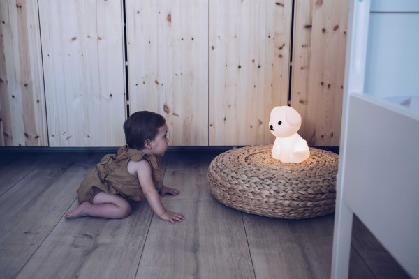 Mr Maria Snuffie eerste licht nachtlamp