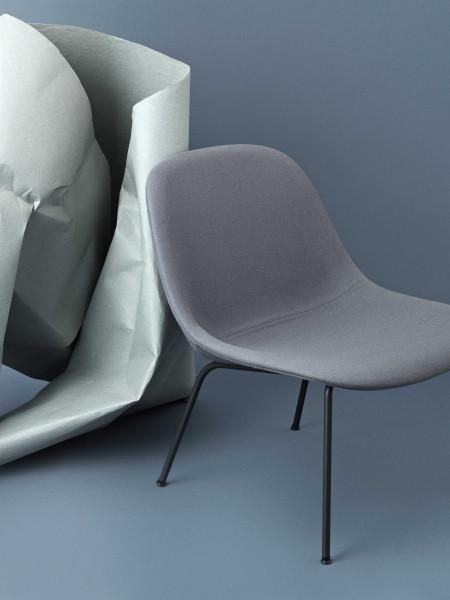 Muuto Fiber Tube fauteuil