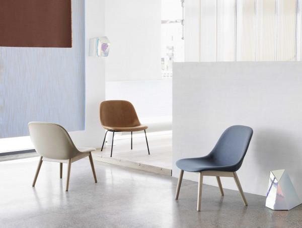 Muuto Fiber Wood fauteuil