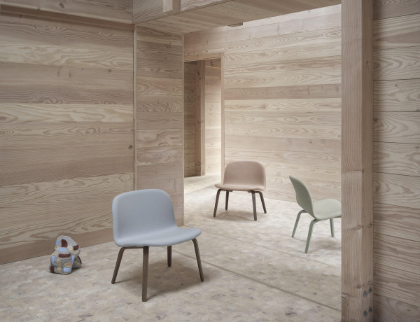 Muuto Visu gestoffeerde loungestoel