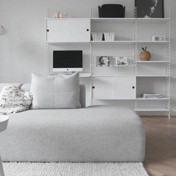 String Furniture Magazine Shelf 78 x 30 cm