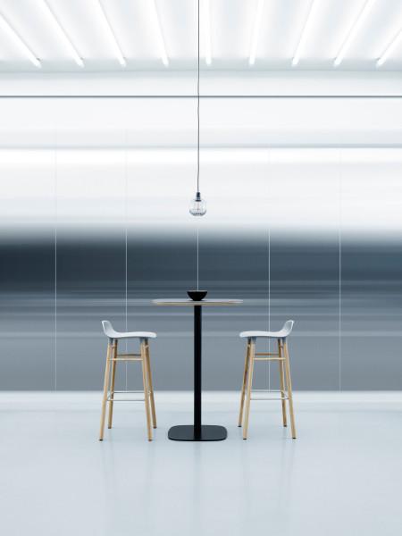 Normann Copenhagen Form Barstool barkruk 65cm met eiken onderstel