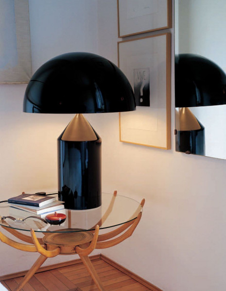 Oluce Atollo 50 Metal tafellamp