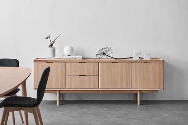 PBJ Designhouse Ager Sideboard dressoir 3 Light Oak