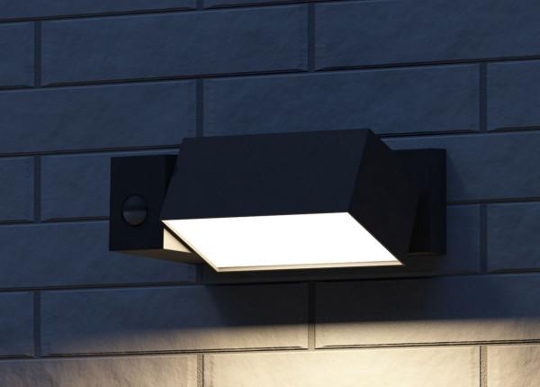 Philips Border wandlamp met bewegingssensor