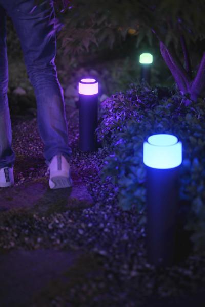 Philips Hue Calla sokkellamp white/color ambiance LED IP65 uitbreidingsset