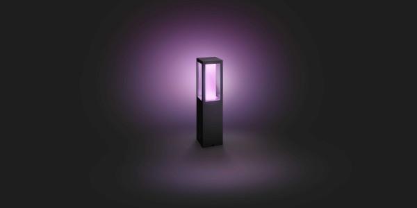 Philips Hue Impress sokkellamp white/color ambiance LED uitbreiding IP44