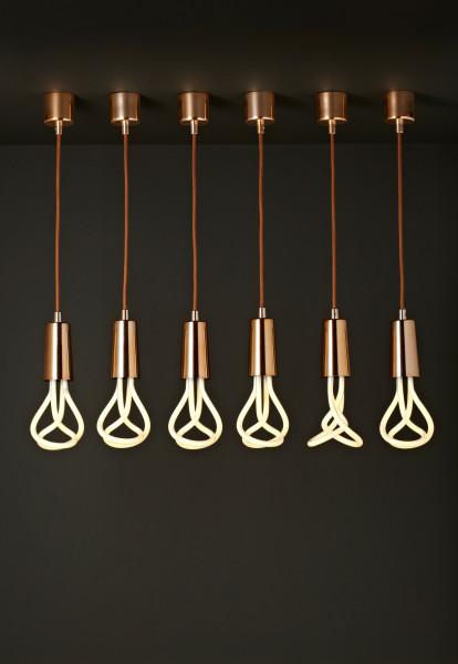 Plumen Plumen Drop Cap hanglamp met pendant set