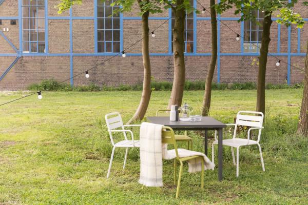 Emu Tweedekansje - Star tuinstoel met armleuningen taupe