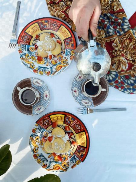 Seletti Hybrid dessertbord