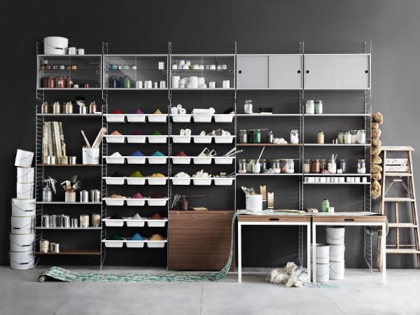 String Furniture Floor side panel 2-pack 85 x 30 cm