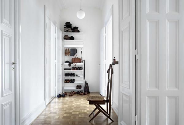 String Furniture Shoe shelf metal 78x30 1-pack