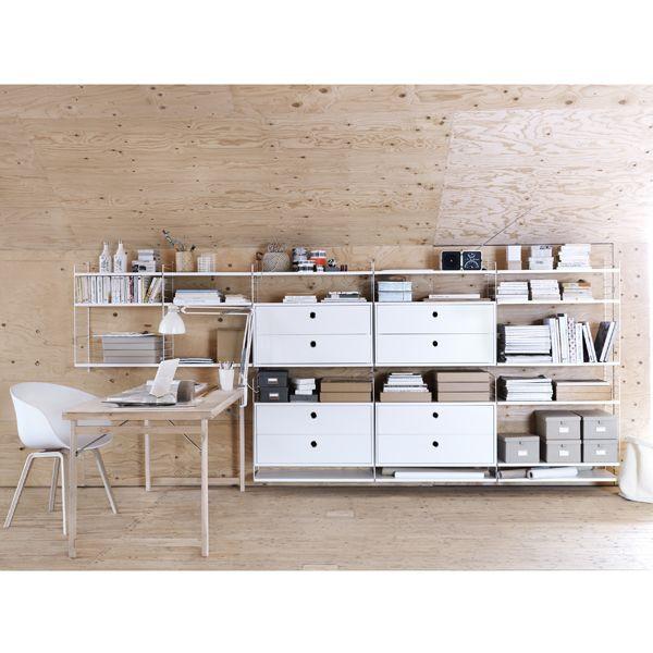 String Furniture Floor side panel 1-pack 85 x 30 cm