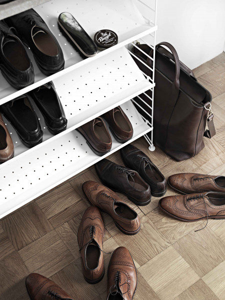 String Furniture Plus schoenenrek met kapstok