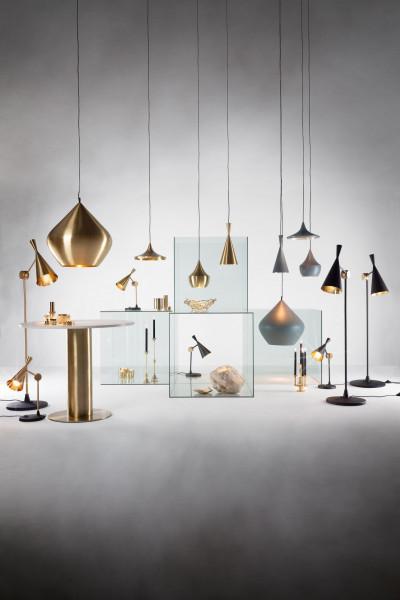 Tom Dixon Beat Light Tall hanglamp retrofit grijs