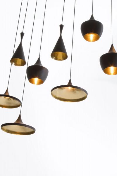 Tom Dixon Beat Light Tall hanglamp zwart