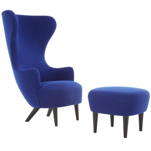 Tom Dixon Wingback Black fauteuil