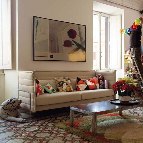 Vitra Alcove driezitter sofa