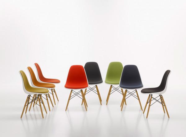 Vitra Eames DSR stoel met zitkussen