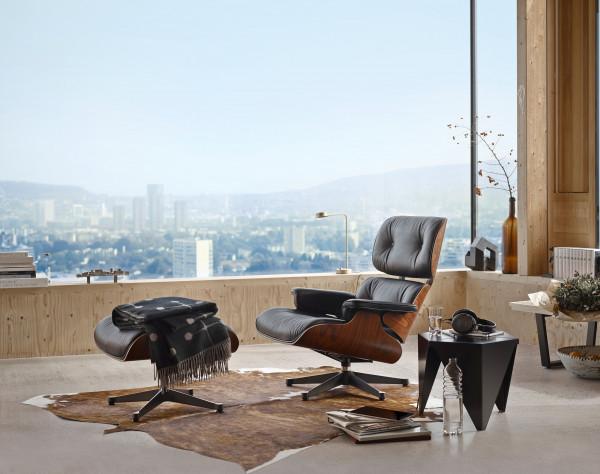 Vitra Eames Lounge chair fauteuil (nieuwe afmetingen) Palisander