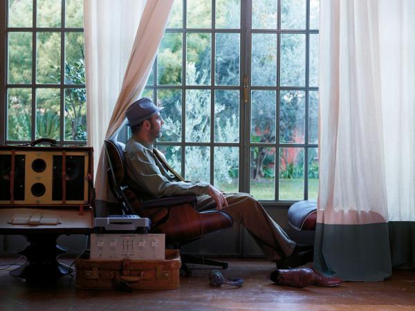 Vitra Ottoman voor Lounge chair Palisander