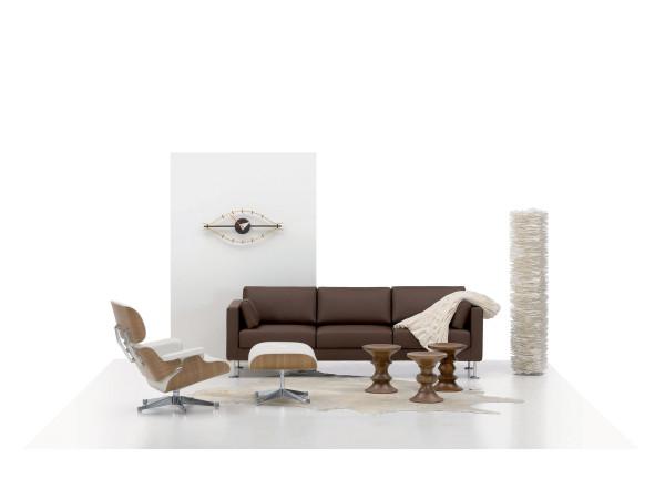 Vitra Eames Lounge chair met Ottoman fauteuil (klassieke afmetingen)