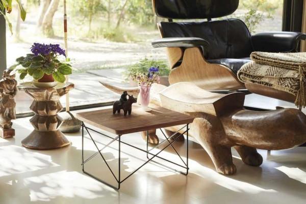 Vitra LTR Wood salontafel 39x34 Black