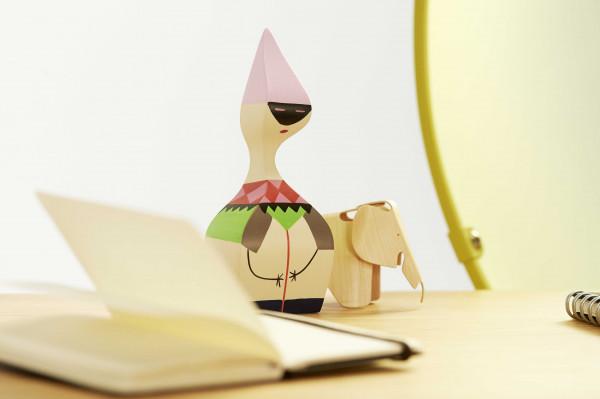 Vitra Plywood Elephant Natur miniatuur