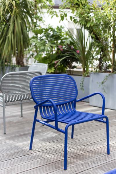 Petite Friture Week-end tuinset 60x69 salontafel + 2 fauteuils