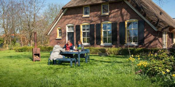 Weltevree Bended tuinset Grey Blue 180x90