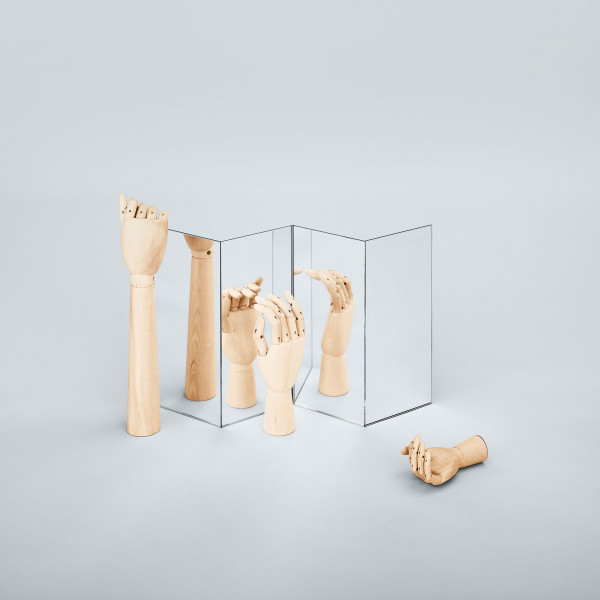 Hay Wooden Hand collectors item large