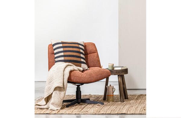 WOOOD Exclusive Vinny fauteuil bouclé