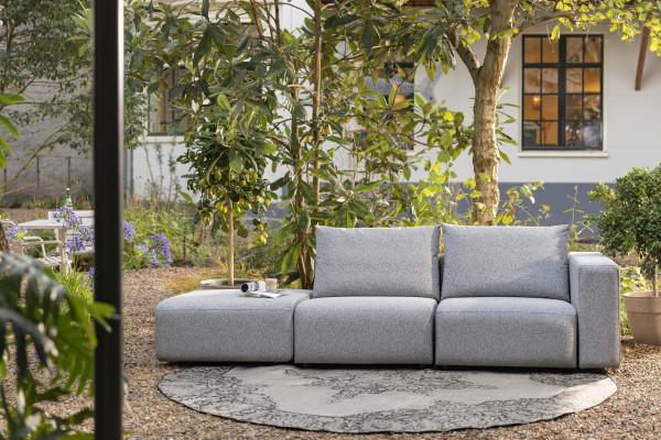 Zuiver Breeze outdoor 3-zits loungebank rechts