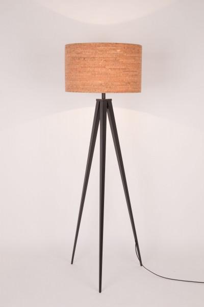 Zuiver Tripod Cork vloerlamp