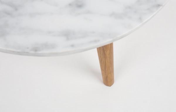 Zuiver White Stone bijzettafel small 32