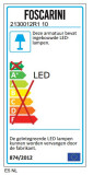 Foscarini Anisha tafellamp LED