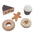 Sebra Houten Cake en Koekjes voor Speelkeuken