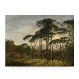 KEK Amsterdam Golden Age Landscape 1 wandpaneel hout