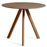 Hay Copenhague CPH20 tafel 90cm, gelakt walnoot