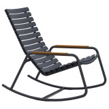 Houe ReClips schommelstoel met bamboe armleuningen