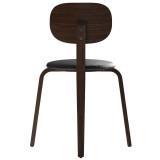 Menu Afteroom Dining Chair Plus stoel hout met zitkussen